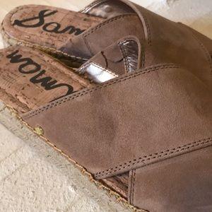 Sam Edelman Shoes - 🎉HP🎉 Sam Edelman Espadrille Slides